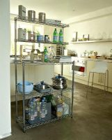 Modern kitchen shelf unit
