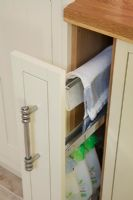 Modern kitchen storage drawer