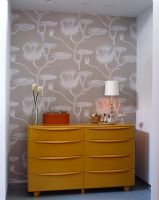 Modern chest of drawers in bedroom