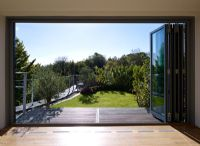 Large folding patio doors