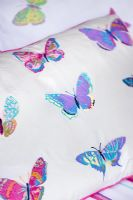 Butterfly printed bedlinen from Laura Ashley