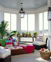 Colourful conservatory