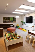 Contemporary play room