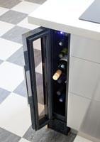Contemporary wine cooler