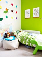 Colourful kid's bedroom