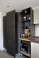 Contemporary kitchen units