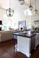 Classic open plan kitchen