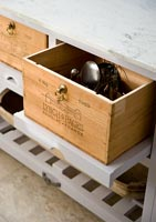 Recycled kitchen storage
