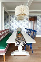 Eclectic dining room furniture