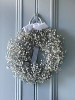 Wreath of Gypsophila - Baby's Breath