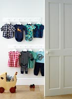 Baby clothes storage