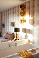Modern bedroom and en suite bath