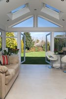 Modern garden room extension
