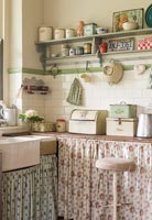 Vintage kitchen detail