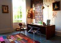 Eclectic home office furniture
