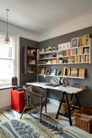 Eclectic office furniture