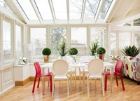 Modern dining room extension