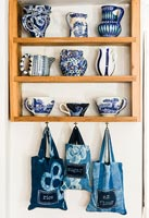 Patterned ceramics display