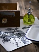 Crafts projects using botanical prints