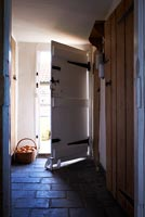 Country utility room and door