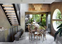 Contemporary dining room
