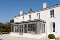 Eighteenth century chateau with conservatory