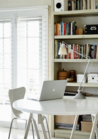 White study furniture