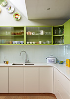Modern kitchen units