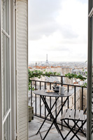 Balcony with Views over Paris