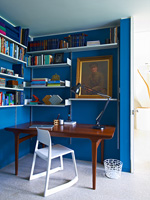 Vintage and modern study furniture
