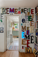 Decorative letters display