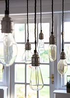 Pendant lights detail