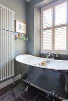 Classic bath and modern radiator