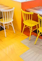Colourful flooring