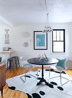 Eclectic dining furniture