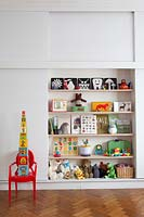 Storage in childs room