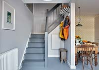 Grey staircase