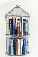 Wire book storage