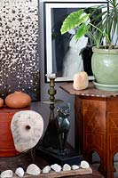 Eclectic ornaments and accessories