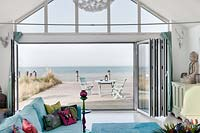 Patio doors with view over deck