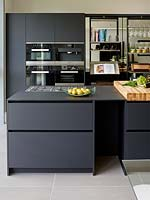 Contemporary kitchen island units