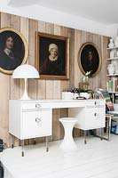 Eclectic study furniture