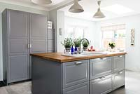 Kitchen island units