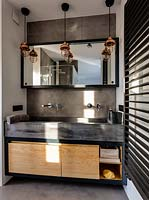 Industrial style sinks