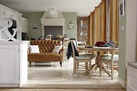 Open plan dining and seating areas