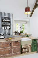 Rustic kitchen units