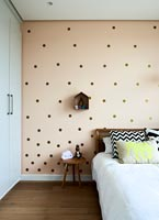Patterned feature wall