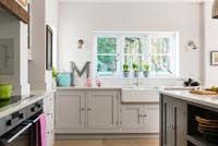 Classic kitchen units and butler sink