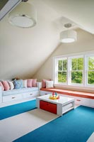 Colourful playroom