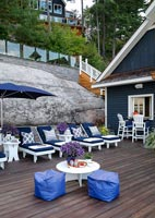 Boathouse and deck